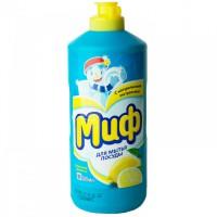 МИФ Средство для мытья посуды 500мл Лимонная свежесть 81628038 397842 - Интернет-магазин «Строительный двор Морозов»