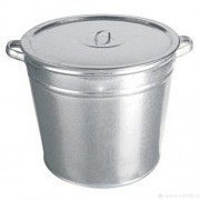 Бак оцинкованный 110л для воды с крышкой *1/3 ЛМ90 - Интернет-магазин «Строительный двор Морозов»