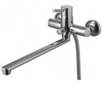 Смеситель для ванны шар. с изливом 35см оранж. ручки GOTA ROCIO G2232-10 - Интернет-магазин «Строительный двор Морозов»