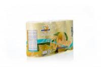 Туалетная бумага Мягкий знак Deluxe Лимон 2х слойная 8шт арт.7с13 830510 - Интернет-магазин «Строительный двор Морозов»