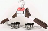 Вешалка-Плечики для одежды Мишель-6 6шт/уп MasterHouse 636927 603658 - Интернет-магазин «Строительный двор Морозов»