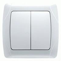 ВИКО Выключатель 2кл белый Vi-Ko 90552002 - Интернет-магазин «Строительный двор Морозов»
