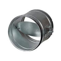 ВПУ Дроссель-клапан ф140 оцинк 0,5мм 100134 - Интернет-магазин «Строительный двор Морозов»