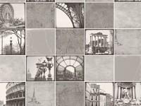 Обои винил на бумажной основе 0,53х10м В49.4 5608-10 Колизей черно-белый Славянские - Интернет-магазин «Строительный двор Морозов»