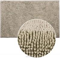 Коврик для ванной комнаты 50х80см Макароны серый ЖР67 - Интернет-магазин «Строительный двор Морозов»