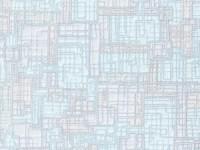 Обои бумажные 0,53х10м В76.4 6525-03 Пена Призма геометрия бежево-голубая Славянские - Интернет-магазин «Строительный двор Морозов»