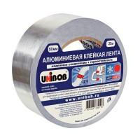 Алюминиевая клейкая лента 50мм 25метров UNIBOB 37281 *1/24 334101 - Интернет-магазин «Строительный двор Морозов»