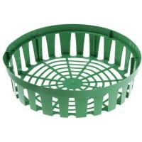 Корзина для луковичных круглая зеленая 26,5х30см 671161 - Интернет-магазин «Строительный двор Морозов»