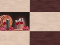 Обои винил на бумажной основе 0,53х10м В49.4 5548-02 Брют кремовый-кофе красн вино Славянские - Интернет-магазин «Строительный двор Морозов»