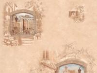 Обои винил на бумажной основе 0,53х10м В49.4 5546-02 Авеню улочка песочная Славянские - Интернет-магазин «Строительный двор Морозов»