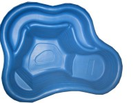 Пруд садовый декоративный пластиковый 210 литров Эконом Цветной  - Интернет-магазин «Строительный двор Морозов»