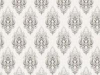 Обои винил на флизелин основе 1,06х10м В118 8530-10 Шарман темно-серый на белом Славянские - Интернет-магазин «Строительный двор Морозов»