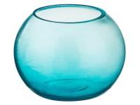 Ваза для цветов круглая 90мм стекло голубая 182-237 ЛТ84 822379 - Интернет-магазин «Строительный двор Морозов»