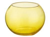 Ваза для цветов круглая 90мм стекло желтая 182-238 ЛТ85 822386 - Интернет-магазин «Строительный двор Морозов»