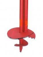 Бур садовый ф125мм с твердосплавными пластинами БРШ-125 L1000мм - Интернет-магазин «Строительный двор Морозов»