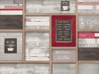 Обои винил на бумажной основе 0,53х10м В49.4 5617-10 Таверна красно-серая Славянские - Интернет-магазин «Строительный двор Морозов»