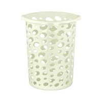 Корзина для мусора 12л Сорренто белая М2052 АЛЬТЕРНАТИВА 472811 - Интернет-магазин «Строительный двор Морозов»