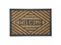 КОКОС Коврик на резиновой подложке 40х60см  Welcome 511236 - Интернет-магазин «Строительный двор Морозов»