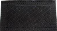 Коврик резиновый 40х60см PIN MAT полукруглый черный орнамент 511199 - Интернет-магазин «Строительный двор Морозов»