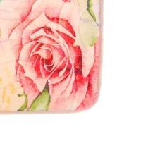 Коврик для ванной комнаты 50х80см Print Розы БИ571 512295 - Интернет-магазин «Строительный двор Морозов»