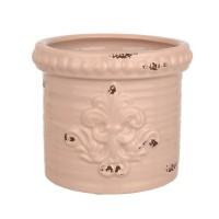 Горшок цветочный САМУИ керамический с блюдцем 16х13 Т32-01 - Интернет-магазин «Строительный двор Морозов»