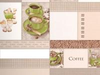 Обои винил на бумажной основе 0,53х10м В49.4 5563-04 Корица чашка зеленая Славянские - Интернет-магазин «Строительный двор Морозов»