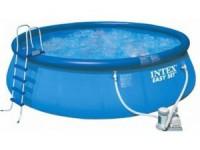 Бассейн INTEX Easy Set 457х91 см + аксессуары, фильтр - насос - Интернет-магазин «Строительный двор Морозов»