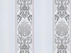 Обои бумажные 0,53х10м В76.4 6514-10 Пена Садко 2 полоса черно-белая Славянские - Интернет-магазин «Строительный двор Морозов»