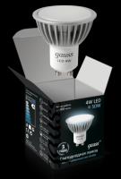 GAUSS Лампа светодиод. GU10. 4W.2700K  - Интернет-магазин «Строительный двор Морозов»