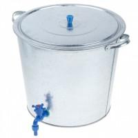 Бак оцинкованный 32л для чистой воды с краном *1/5 ТА04 - Интернет-магазин «Строительный двор Морозов»