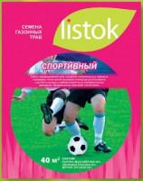 Газон LISTOK спортивный 1,0 кг 40 м2 511514 - Интернет-магазин «Строительный двор Морозов»
