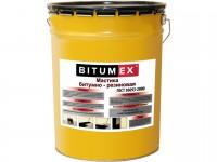 Мастика битумно-резиновая BITUMEX 5кг 000323 - Интернет-магазин «Строительный двор Морозов»