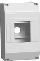 ИЕК Блок пластиковый  навесной 63А КМПн 1/4 IP30 МКР31-N-04-30-135 - Интернет-магазин «Строительный двор Морозов»
