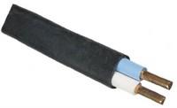 Кабель ВВГнг 2х1,5пл силовой, черный, медный, плоский (ГОСТ) 1метр 571753 731559 - Интернет-магазин «Строительный двор Морозов»
