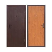Дверь метал. Эконом 960х2050 Левая 101251 - Интернет-магазин «Строительный двор Морозов»