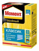 Клей обойный Момент классик 500 гр - Интернет-магазин «Строительный двор Морозов»