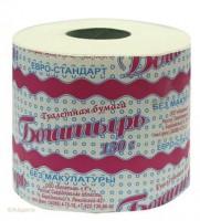 Туалетная бумага Богатырь кремовая с втулкой 1шт *1/24 800084 - Интернет-магазин «Строительный двор Морозов»