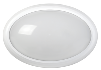 Светильник св/д ДБП-8w 4500k 640лм IP54 овальный пластик Белый LDPO0-3020-8-4500-К01 499223 - Интернет-магазин «Строительный двор Морозов»