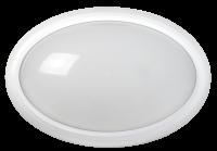 Светильник св/д ДБП-12w 4500k 960лм IP54 овальный пластик Белый - Интернет-магазин «Строительный двор Морозов»