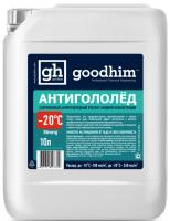 Антигололедный реагент до -20С Goodhim Strong 10л 00002018 - Интернет-магазин «Строительный двор Морозов»