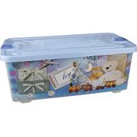Контейнер для игрушек 75л АЛЬТЕРНАТИВА КИА - Интернет-магазин «Строительный двор Морозов»