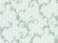Обои винил на флизелин основе 1,06х10м В109 3576-04 Пломбир бирюзовая ветка на бирюзов Славянские - Интернет-магазин «Строительный двор Морозов»
