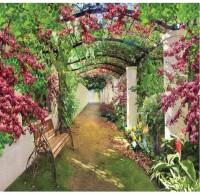 Фотообои 272х194см Цветущая галерея ЛЮКС 050880 - Интернет-магазин «Строительный двор Морозов»