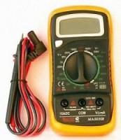 Мультиметр MAS838L AC(600V) DC(600V/10A) диод-тест 2-3 изм в сек 238839 - Интернет-магазин «Строительный двор Морозов»