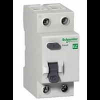 Выключатель дифференциального тока (УЗО) 2п 25A 30мА АС Schneider Electric EASY 9 EZ9R34225 581069 - Интернет-магазин «Строительный двор Морозов»