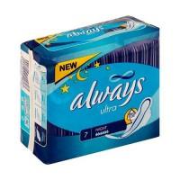Женские гигиен. прокладки ALWAYS Ultra Night Single 7шт 83734630 041603 - Интернет-магазин «Строительный двор Морозов»