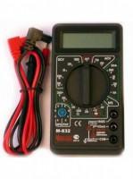Мультиметр M832  AC(600V) DC(600V/10A) R(2MOм) диод-тест 2 изм в сек 600 241619 - Интернет-магазин «Строительный двор Морозов»