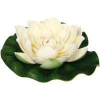 Растение водоплавающее ЛОТОС d-18 см 851A пенопласт *1/24 - Интернет-магазин «Строительный двор Морозов»