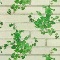 Обои бумажные 0,53х10м С-3В Ф273-02 Лиана зелен на сером Саратовские - Интернет-магазин «Строительный двор Морозов»