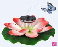 Светильник садовый плавающий ф12см на солнечной батареей INBLOOM - Интернет-магазин «Строительный двор Морозов»